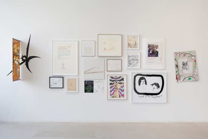 Installation view, Works on Paper, Greene Naftali, New York, 2015