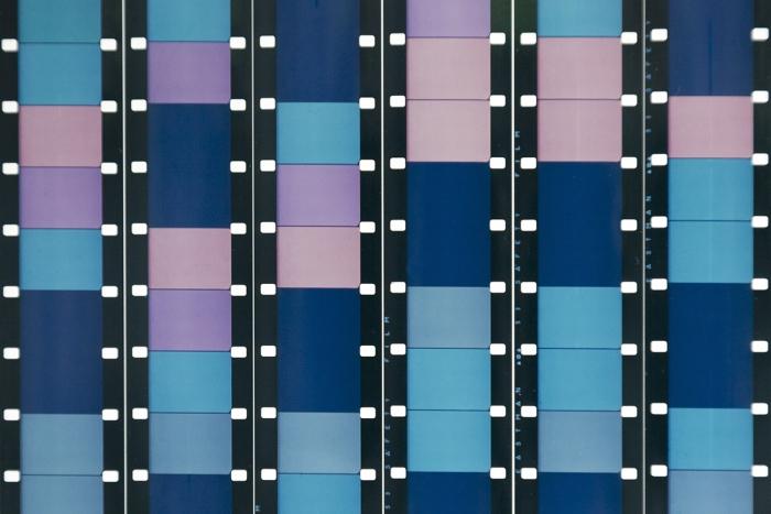 Paul Sharits  Frozen Film Frame: Specimen IV, detail 1966