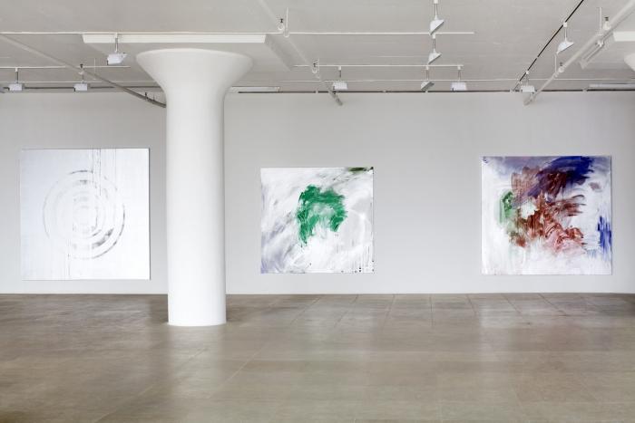 Jacqueline Humphries, Installation view, Greene Naftali, New York, 2009
