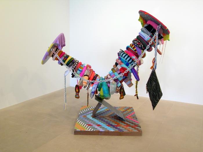 Jim Drain, Vagabond, 2007, Mixed media, 70 x 43 x 80 inches