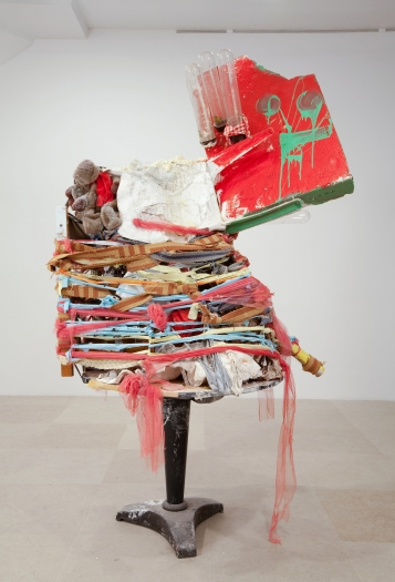 gelitin Untitled, 2010 Mixed media 96 x 59 x 59 inches (243.8 x 149.9 x 149.9 cm)