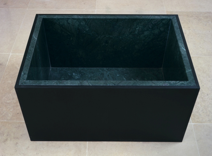 Michaela Meise Tomb, 2006 green marble, plywood 16 3/4 x 33 3/4 x 22 1/2 inches 42.5 x 85.7 x 57.2 cm