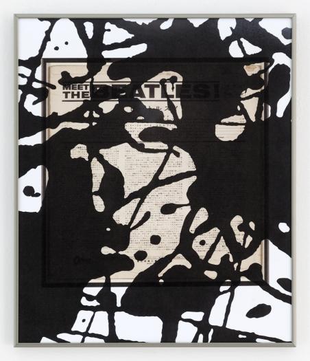 Daan van Golden Study Pollock/Made In Japan, 2012 Giclee print on photo paper 16 3/8 x 13 3/4 inches (41.6 x 34.9 cm)