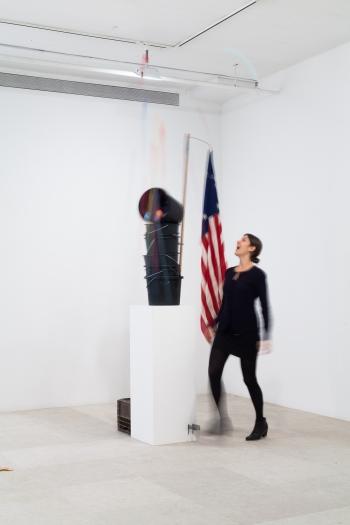 Gelitin  Untitled, 2012  Mixed media  103 x 23 3/4 x 34 3/4 inches (261.6 x 60.3 x 88.3 cm)