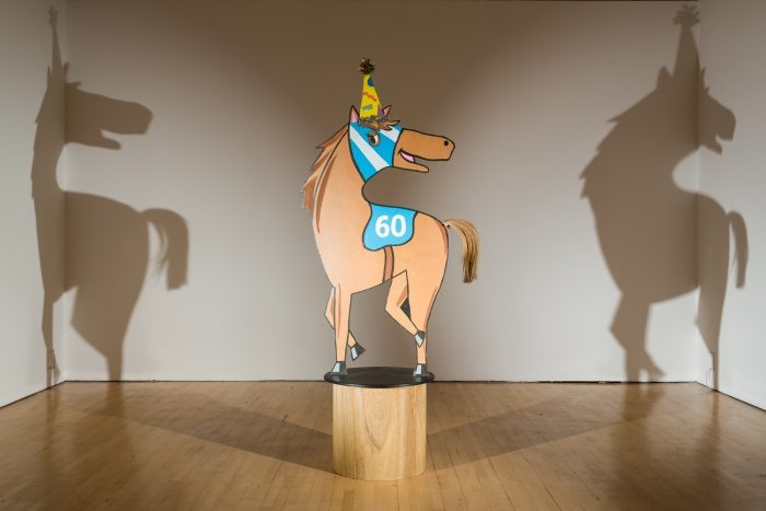 Lutz Bacher, Horse/Shadow, 2010-2012