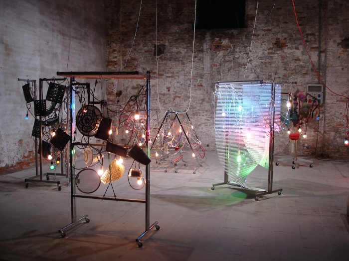 Haegue Yang, Installation view, Making Worlds, 53rd International Art Exhibition, Venice Biennale, Italy, 2009