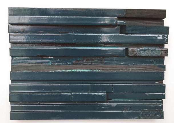 Michaela Meise Glossy Moll II, 2005 Wood, resin enamel 10 x 14 x 3 1/2 inches (25.4 x 35.6 x 8.9 cm