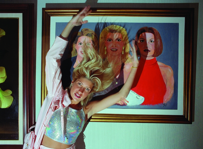 Daniela Rossell Untitled (Ricas y Famosas) Raul Salinas Painting, 1999 C-print 30 x 40 inches (76.2 x 101.6 cm)