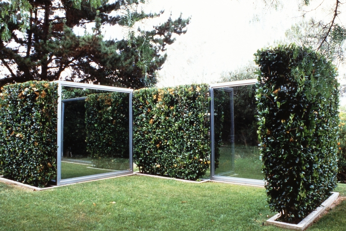 Two Way Mirror Hedge Labyrinth, 1989