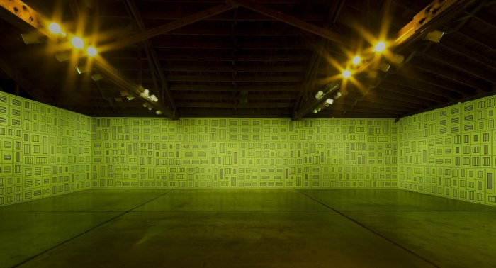 Installation view, Disjecta, Portland, Oregon, 2012