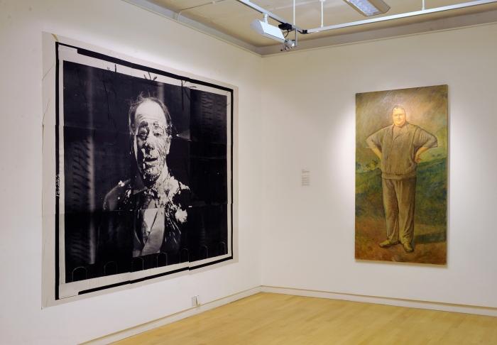 Installation view, Michael Fullerton - Meaning Inc., Glasgow Print Studio, Glasgow, 2014