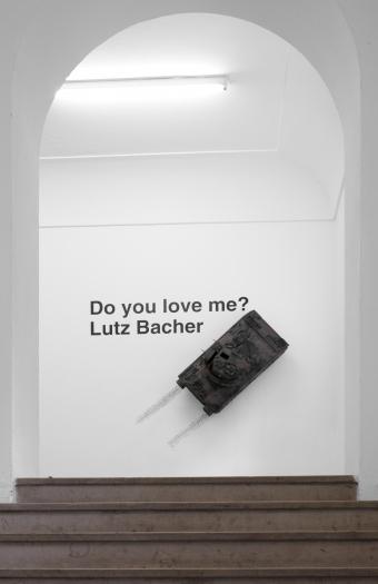 Lutz Bacher Installation view, Do You Love Me?  Kunstverein Munich, Munich, 2009