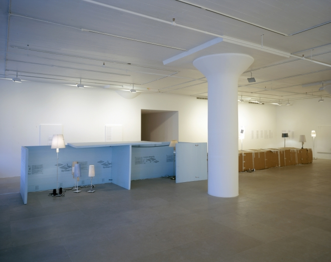 Josef Strau, Installation view, Greene Naftali, New York, 2008