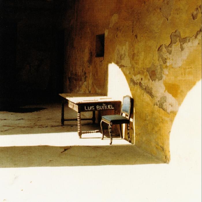 Garcia Lorca Chair and Luis Bunuel Table