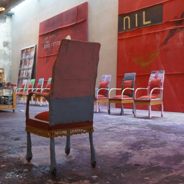 Julian Schnabel Studio, New York
