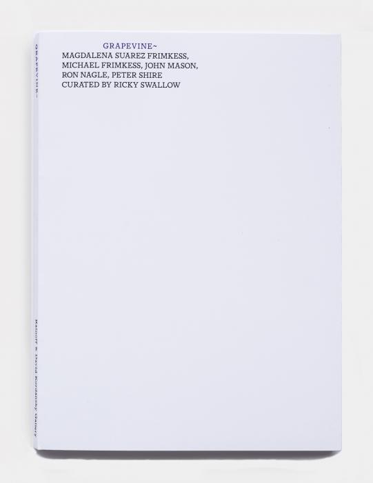 John Mason, Magdalena Suarez Frimkess, Michael Frimkess, Peter Shire, Ron Nagle. Curated by Ricky Swallow