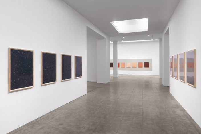 Installation view, Bernd and Hilla Becher, Sarah Charlesworth, Sherrie Levine, Organized by Sherrie Levine, February 29 – August 17, 2020