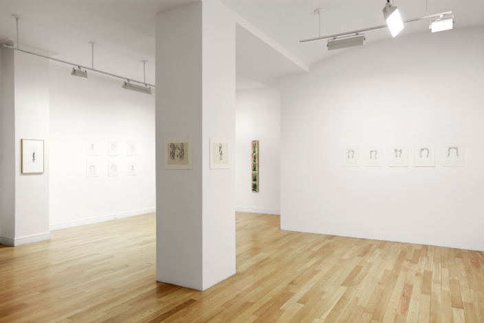 Installation view 1, Michael Hurson, November 18, 2010 – January 15, 2011