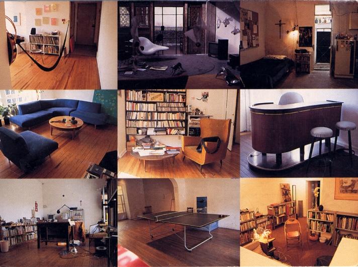 la sala del artista