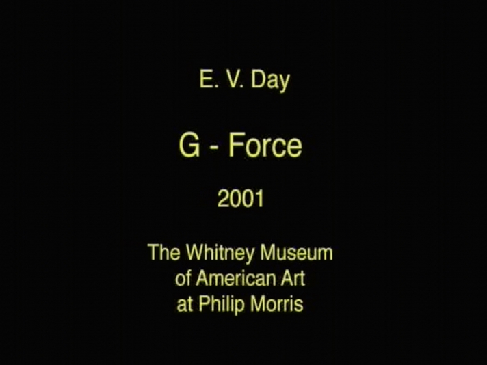 E.V. Day: G-Force