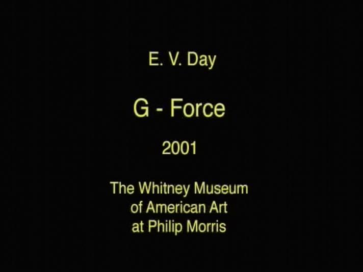 E.V. Day: G-Force