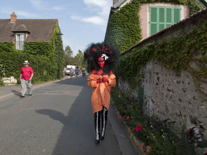 Bunnies in the Lily Pond: E.V. Day and Kembra Pfahler at Giverny