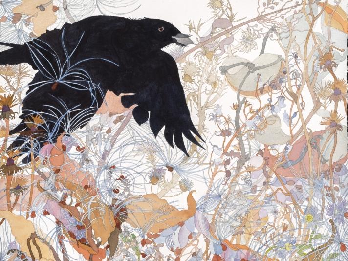 Joan Becker, Watch, Watercolor