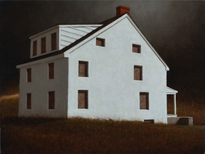 Ted Walsh, Connotation, Oil On panel