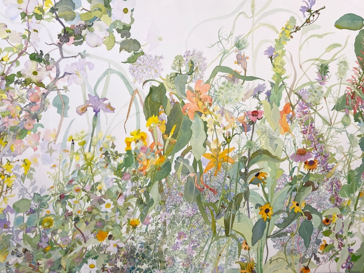 Joan Becker, Finally Spring, Watercolor