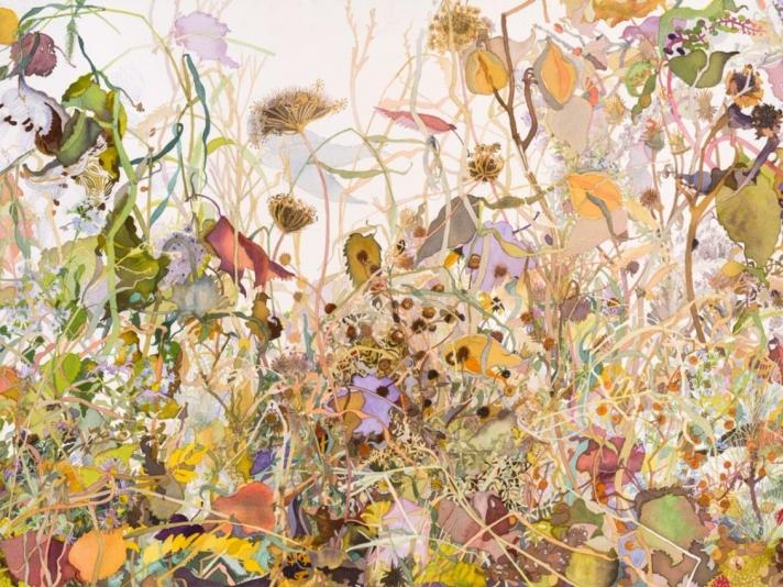 Autumn Walk, Joan Becker, Watercolor