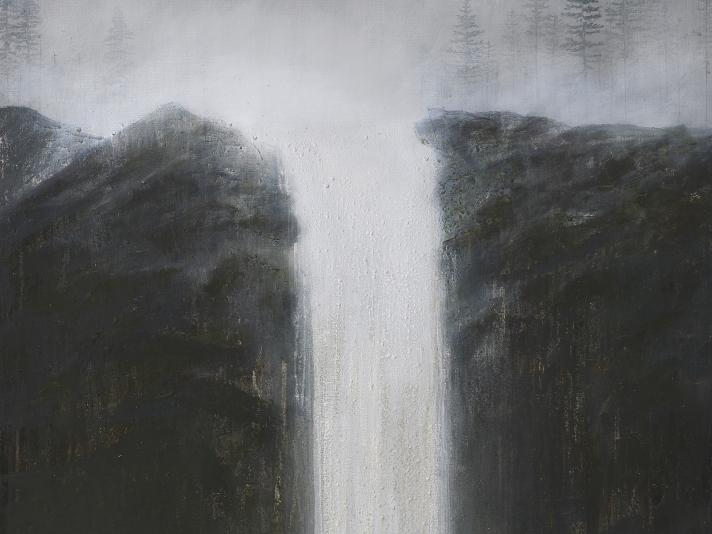 Rhea Cutillo, Filtered Water, Oil On Linen