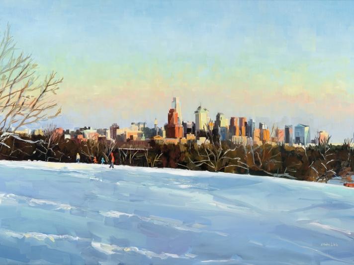 Elaine Lisle, Sledding with a View