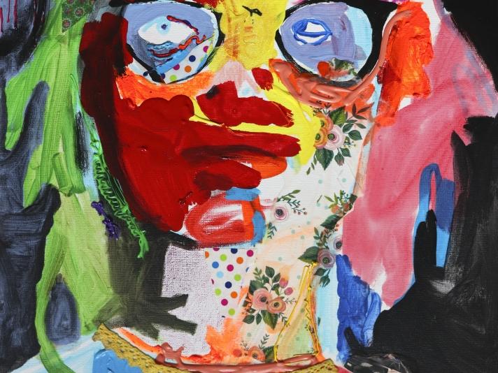 SP 2020, Acrylic On Canvas, Mickayel Thurin