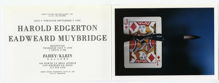Harold Edgerton / Eadweard Muybridge