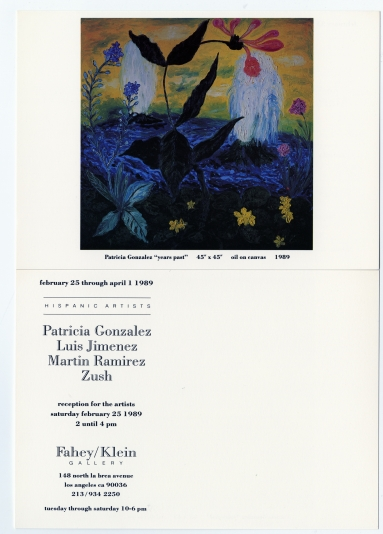 Patricia Gonzales / Luis Jimenez / Martin Ramirez / Zush