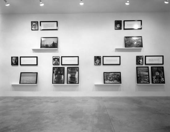 Installation Views Sophie Calle Exhibitions Luhring