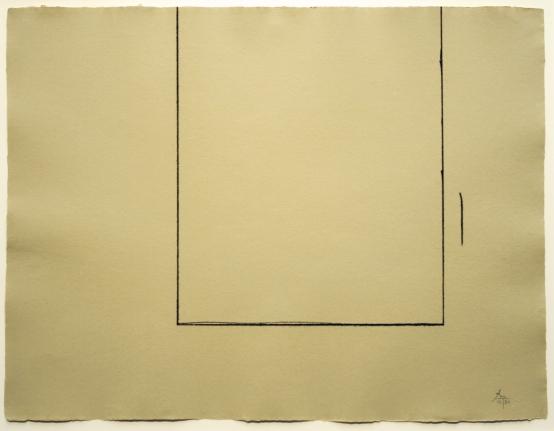 Robert Motherwell, Beige Open, Etching