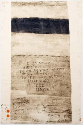 Anton Heyboer, Living in Dust 2, Etching