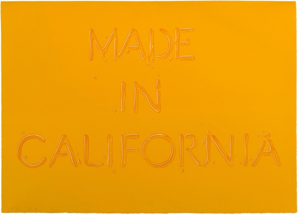 Ed Ruscha, Made in California