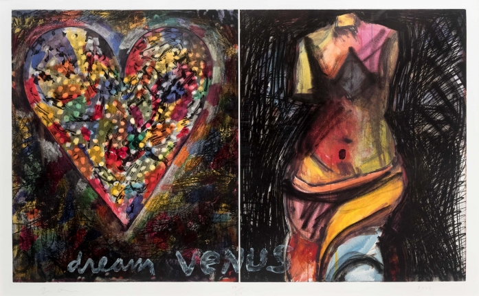 Jim Dine, Dream Venus, 2002, Etching, Lithograph, Pop, Contemporary Art
