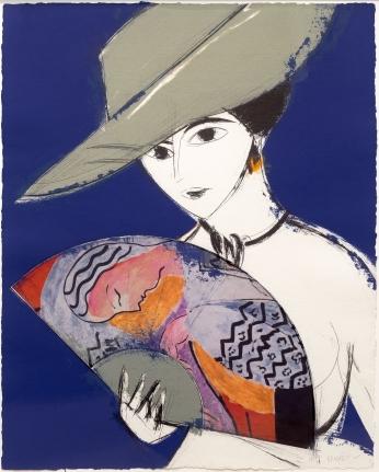 Manolo Valdes, Pamela III (Matisse), Etching