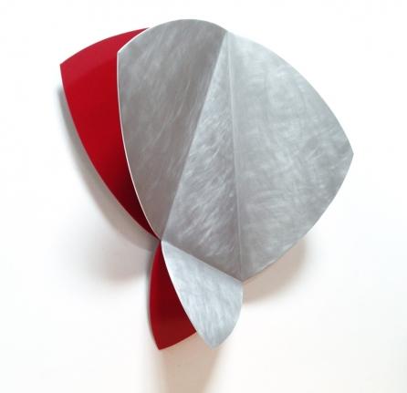 David Rodriguez Caballero, deciembre 31, aluminum sculpture