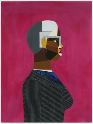 Derrick Adams, Interior Life (Woman), 2019, Pigment print