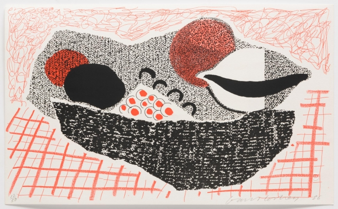 David Hockney, Lemons and Oranges, May 1986