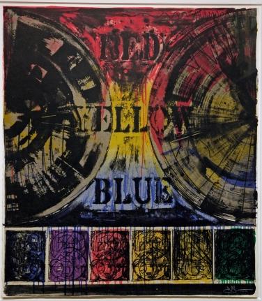 Jasper Johns, Untitled, Lithograph