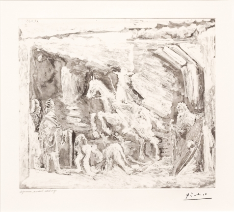 Pablo Picasso, Rapt, avec Celestine, 347 Series, Aquatint
