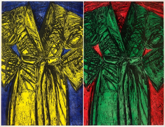 Jim Dine, Kindergarten Robes, 1983, Woodcut, Pop, Contemporary Art