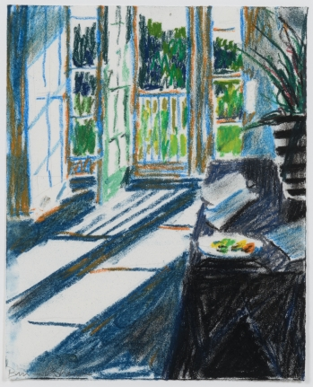 Bruce Cohen, Untitled #10, Pastel on paper, signed in pencil, 2013
