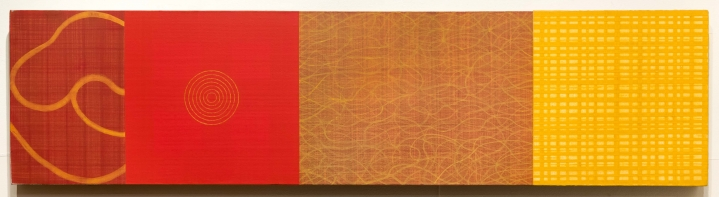 David Shapiro, Origin and Return 115, Acrylic