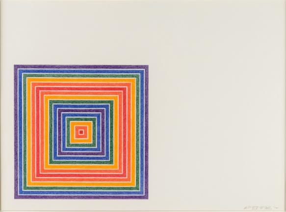 Frank Stella, Gran Cairo, Lithograph